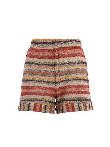 342ed536d3f6 MC2 SAINT BARTH Women's ROBINX0024 Multicolor Cotton Shorts