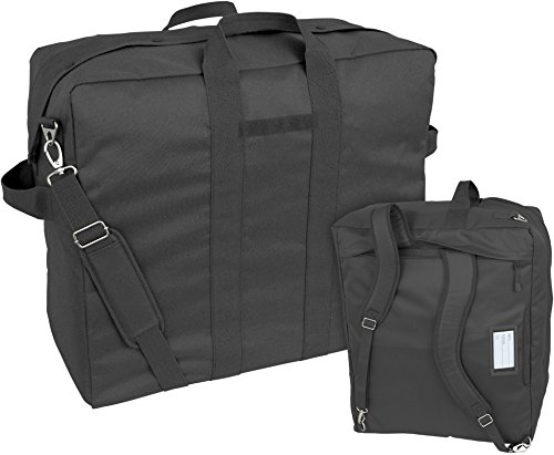 (Mercury Tactical Gear Code Alpha Heavy Duty Tool and Kit Bag with Backpack Straps, Basic, Black)