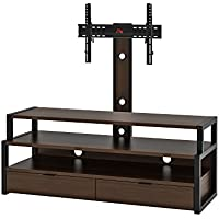 Z-Line Designs ZL7060-60M29U Stratum 3 in 1 Flat Panel TV Mount Syst. , 60 W x 21.25 D x 56.63 H, Rich Espresso