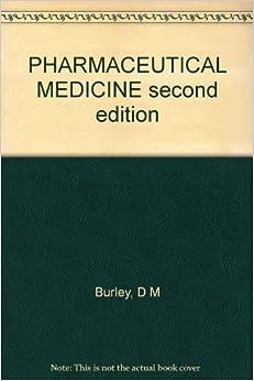 Book PHARMACEUTICAL MEDICINE second edition