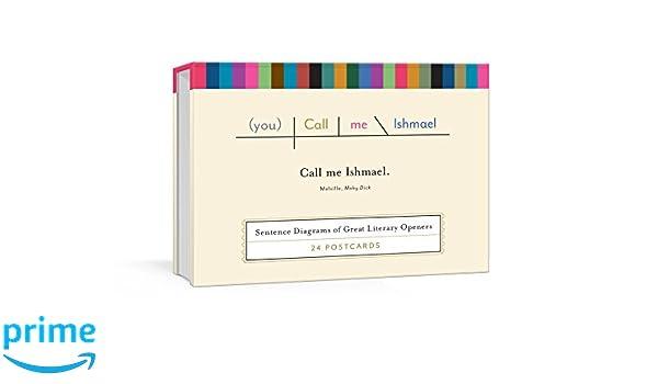 Call Me Ishmael Postcards Sentence Diagrams Of Great Literary