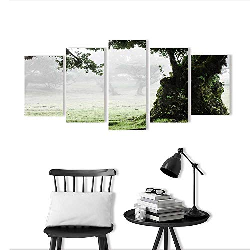 Wulian Painting Combination Frameless Fairy Forest Laurel Forest in Madeira Restaurant Bedroom Painting