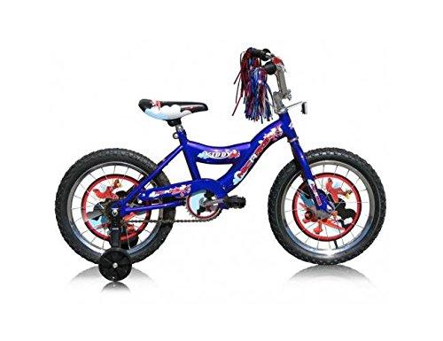 """Boy's 16"""" BMX Bike Color: Blue"""