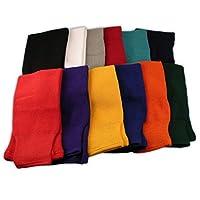 Calcetines de hockey de color sólido CCM S100 - Senior - Negro