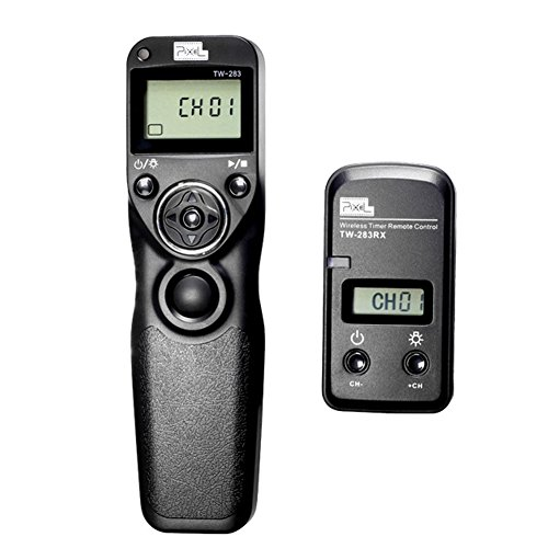 Pixel TW283 S2 Wireless Timer Remote Control for A58 NEX-3NL A7/A7R A3000 A6000 HX300 HX50 RX100M2 HX400 HX60 RX100II by PIXEL