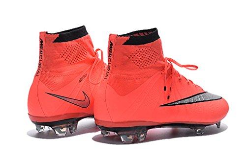 Herren Mercurial X Superfly IV FG High Top Pink Fußball Schuhe Fußball Stiefel