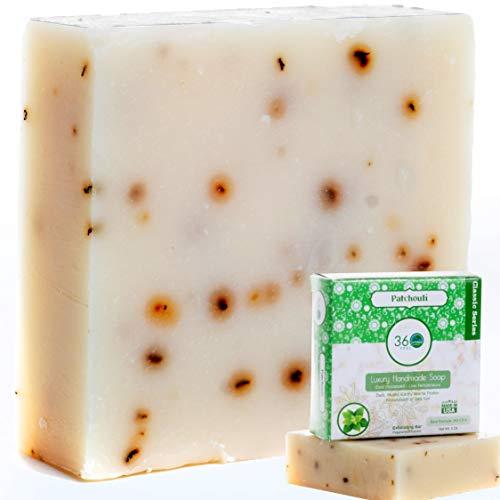 Handmade Soap Men Patchouli Soap 360Feel