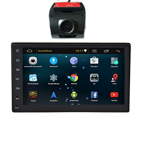 Henhaoro 2 din Android 5.1 Car Stereo Gps Navigation Player Touch Screen No DVD no CD 7