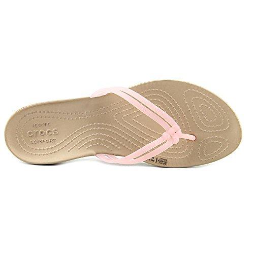 Crocs Dames Isabella Flip Flop Goud
