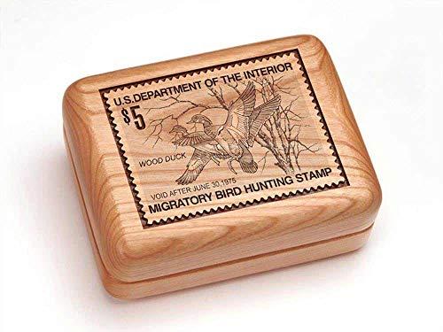 Heartwood Creations Single Deck Card Box - Wood Ducks ()