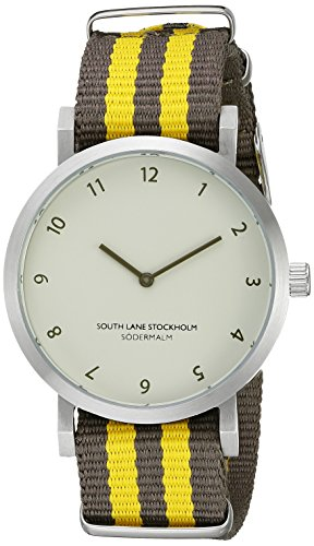 South Lane Unisex 6004 Sodermalm Analog Display Japanese Quartz Brown Watch by South Lane