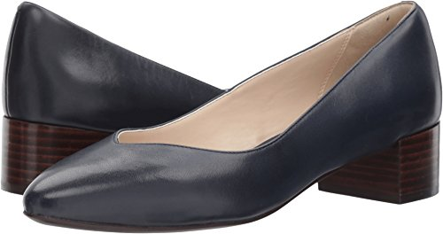Cole Haan Mujeres Yuliana Pump Marine Blue Leather
