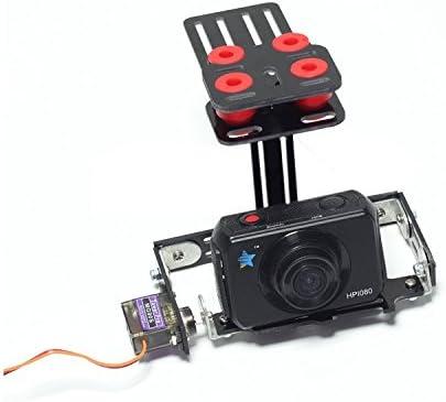 KINGDUOIG Gimbal Single Axis Camera Gimbal con servo Supporto Multi Camera per F450 RC Drone