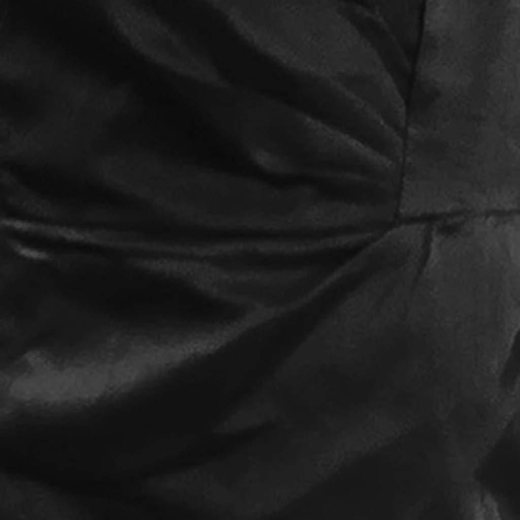 Womens Suspender Dress Sexy Bandage Sleeveless Dress Evening Party Club Silk Irregular Skirt Mini Dress (S, Black) by Moxiu (Image #5)