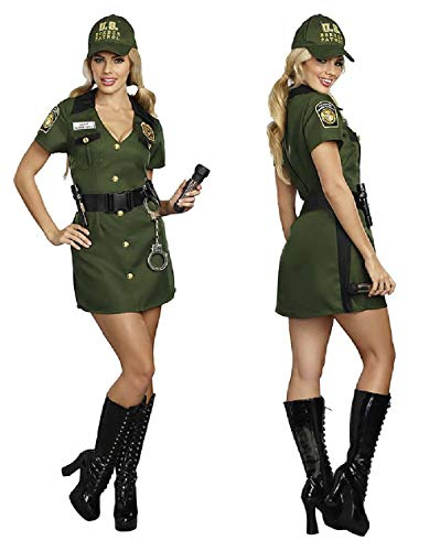 Adult Size Agent Norma Swallow Costume - Female Border Patrol ()