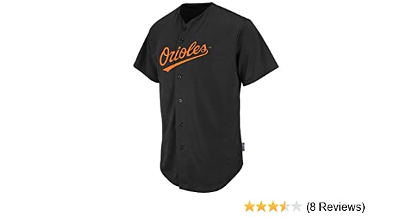 0a6ef7503 Amazon.com   Baltimore Orioles Full-Button CUSTOM or BLANK BACK Major  League Baseball Cool-Base Replica MLB Jersey   Clothing