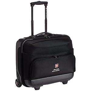 Swiss Military ABS 45 Ltr Black Laptop Roller Case