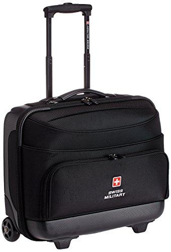 VIP Laptop Trolley Bag Black Swiss Military 15.4 inch 45 Ltrs