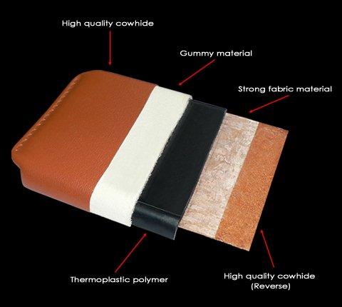 Piel Frama 685 Red Crocodile iMagnum Leather Case for Apple iPhone 6 Plus / 6S Plus / 7 Plus / 8 Plus by Piel Frama (Image #5)