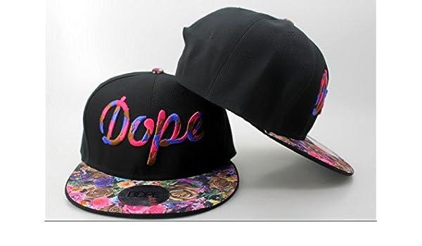 Playa chica/chico Sr./Sra DOPE Snapback Embroidery gorra de ...