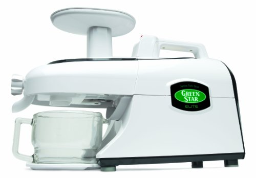 Tribest Green Star Elite GSE-5000 Jumbo Twin Gear Cold Press Juice Extractor