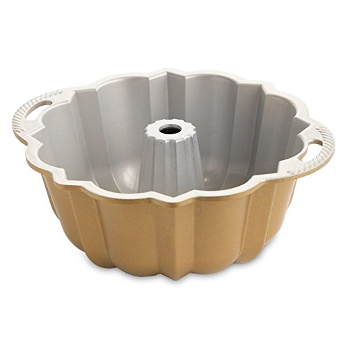 Bundt Pan Molding Ware Cake Jelly Mold Cast Aluminum 10-15 Cups Capacity Bakingware Homey Delight