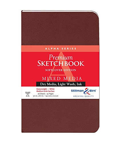 Stillman & Birn Alpha Series Softcover Sketchbook, 5.5