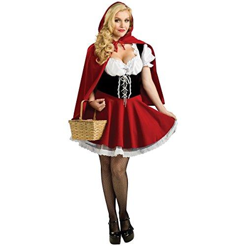 Secret Wishes Full Figure Red Riding Hood ()