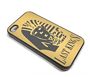 Last Kings Tyga Snapback Hip Hop Gold Design Limited Iphone 4 4s Cases Hard Cover