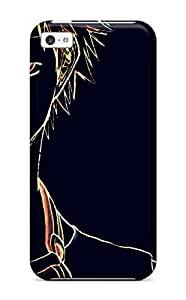 Iphone 5c Hard Back With Bumper Silicone Gel Tpu Case Cover Bleach
