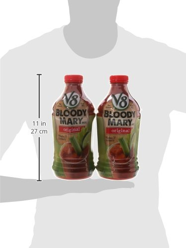 V8 Bloody Mary Mix, 46 oz. Bottle (Pack of 6) by V8 (Image #6)