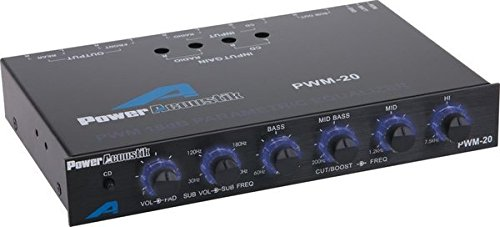 Power Acoustik  PWM-20 Four Band Parametric Equalizer Epsilon Electronics Inc.