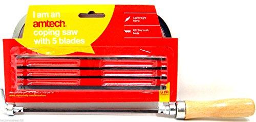 Bogensäge Werkzeug mit 5verschiedene Klingen Qualität Metall leicht Handheld Säge
