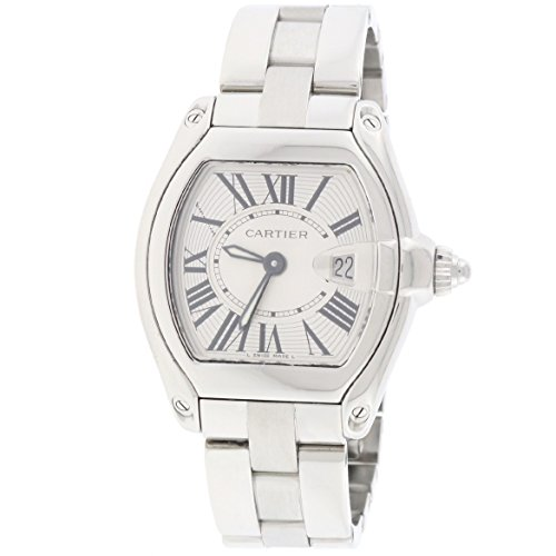 Cartier Roadster analog-quartz womens Watch W62016V3 (Certified Pre-owned)