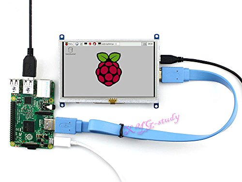 5 inch 800x480 Resistive Touch Screen HDMI interface custom Raspbian LCD mini PC Supports Raspberry Pi 3 2 1 Model B B+ A+ & BeagleBone Black & Banana Pi / Banana Pro @XYGStudy by XYG-Raspberry Pi