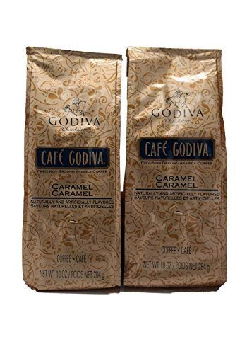 - Cafe Godiva Caramel Coffee 10 Oz (Pack of 2)