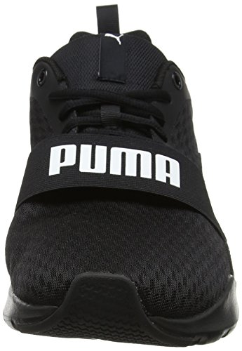 Adulte Mixte Black Noir Black 01 Sneakers Black Puma puma Basses Puma puma Wired 4qwxtIHpKI