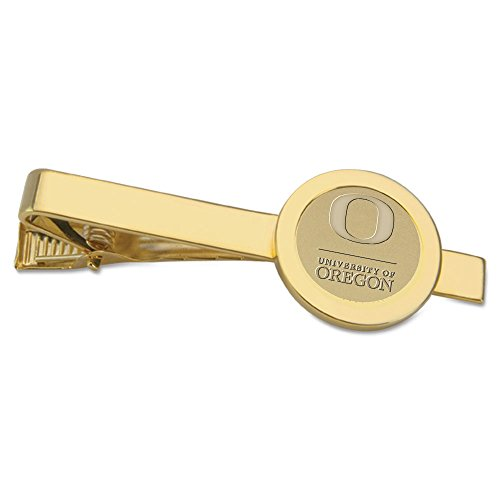 - NCAA Oregon Ducks Adult Men Tie bar, One Size, Gold