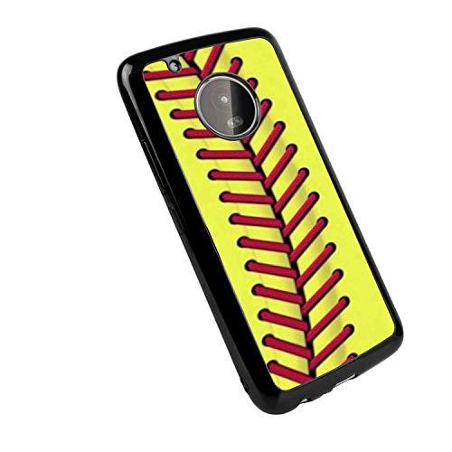 Moto G5 Plus Stitch Baseball Soft TPU Case 5.5in