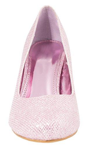bonbon Femmes Chaussures Classique rose fête strass Escarpins paillettes soirée 7p7148qwx