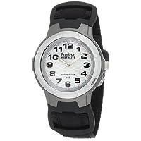 Armitron 204014BLK Black - Reloj deportivo con esfera redonda fácil de leer, negro