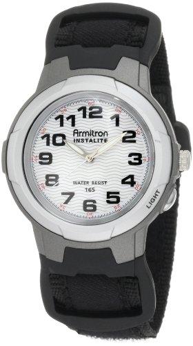 Armitron Men's 204014BLK Black Easy to Read Round Dial Sport Watch