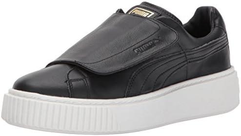 Basket Platform Strap Wn Sneaker 7.5
