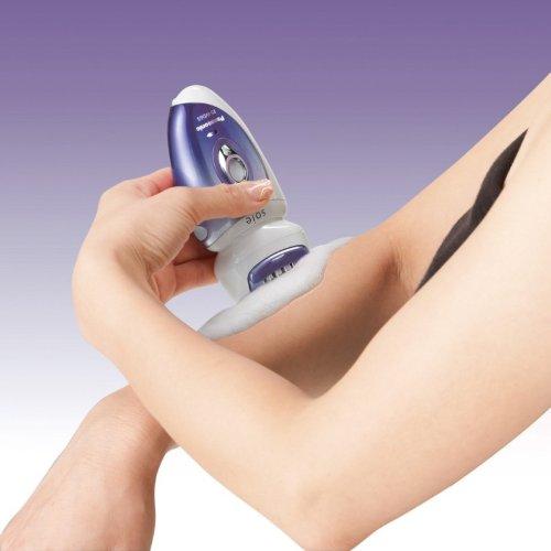 Panasonic Hair Removal Beauty Machine epilator Soie ES-WD65 Purple(Japan Model) by Panasonic (Image #3)