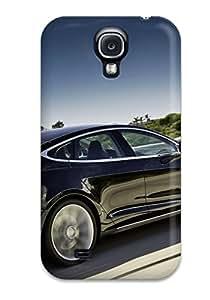 Awesome Design Tesla Model S 34 Hard Case Cover For Galaxy S4 wangjiang maoyi