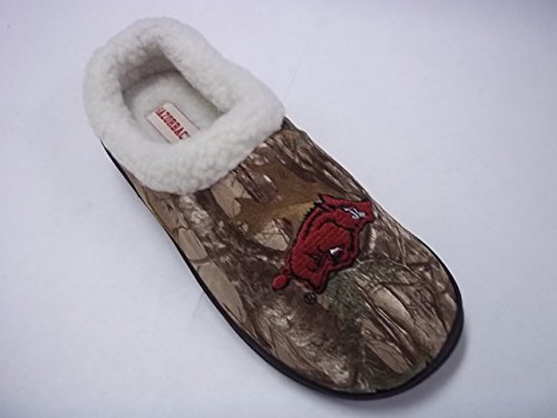 Arkansas Kollegialt Scuff Slipper- Camo