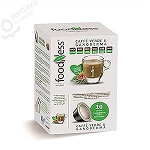 10 capsule Caffè Verde & Ganoderma compatibili DOLCE GUSTO* FoodNess