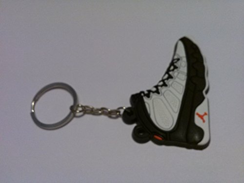 air-jordan-ix-9-white-black-true-red-countdown-chicago-bulls-sneakers-shoes-keychain-keyring-aj-23-r