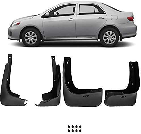 labwork 4 x Car Mud Flaps Splash Guards Front Rear Fit for Corlla 2009-2013