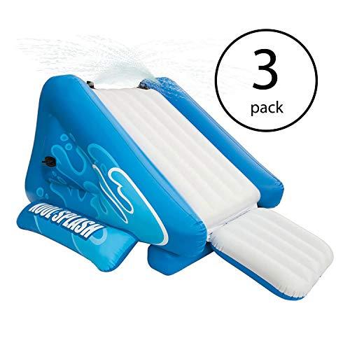 Intex Kool Splash Inflatable Play Center Swimming Pool Water Slide (3 Pack)